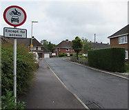 SU3521 : Mountbatten Avenue, Romsey by Jaggery