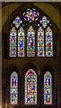 SU8504 : West windows, Chichester Cathedral by Julian P Guffogg
