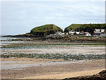 NO8785 : The Beach at Stonehaven by John Lucas