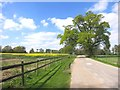 SU6964 : Driveway to Trunkwell House by Des Blenkinsopp