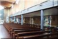 TQ1082 : St Raphael, Yeading - South arcade by John Salmon