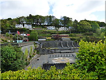 SC4384 : Laxey: View from 'Lady Evelyn' wheel by Dr Neil Clifton