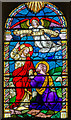SU8504 : Stained glass window, Chichester Cathedral  by Julian P Guffogg