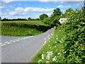 SO3931 : Country lane junction by Jonathan Billinger