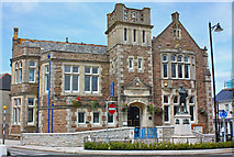 SW6439 : Free Library, Camborne by Wayland Smith