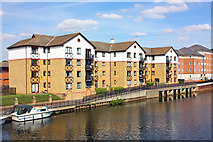 TL1998 : River Nene in Peterborough by Wayland Smith