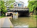 TQ2984 : Regents Canal, Gray's Inn Bridge No 29 viewed from the West by David Dixon