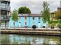 TQ2984 : Cottages near Regent's Canal by David Dixon