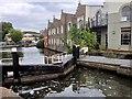 TQ2884 : Regent's Canal, Hawley Lock by David Dixon