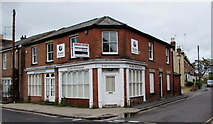 SU3521 : Vacant former St John Ambulance premises in Romsey by Jaggery