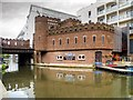 TQ2884 : The Pirate Castle, Gilbey's Wharf, Regent's Canal by David Dixon