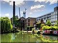 TQ3183 : Regent's Canal, near City Road Basin by David Dixon