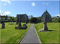 SN1645 : St Dogmael's Church and Abbey by Eirian Evans