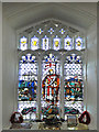 TL9759 : The War Memorial window in Rattlesden church by Adrian S Pye