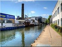 TQ3283 : Regent's Canal Above Sturt's Lock by David Dixon