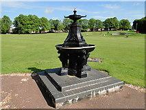 TM0458 : Drinking fountain War Memorial by Adrian S Pye