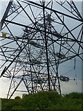 ST3283 : Pylons and power lines by Robin Drayton