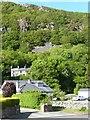 SH5540 : Terraced houses, Sunnyside, Tremadog by Christine Johnstone