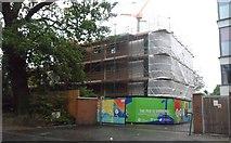 TQ0070 : New Student Accommodation at Royal Holloway University by Anthony Parkes