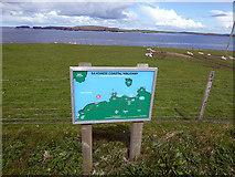 HU1757 : Sandness coastal walkway by John Lucas