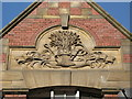 NZ2464 : 14-18 Stowell Street, NE1 - gable (detail) by Mike Quinn