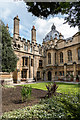 SP5106 : Garden, Brasenose College, Oxford by Christine Matthews