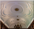 SP5106 : Ceiling of Dining Room, Brasenose College, Oxford by Christine Matthews
