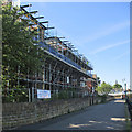 SK5837 : New flats at Welbeck Hall by John Sutton