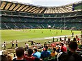 TQ1574 : Twickenham Stadium during the London Sevens 2015 by Keith Williams