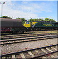 ST6279 : Freightliner locomotive and wagon viewed from Bristol Parkway railway station by Jaggery