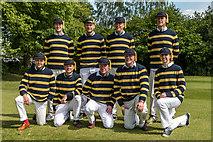 SP5105 : Brasenose College Bump Race Team, Oxford by Christine Matthews