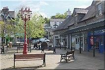 NY3704 : Market Cross shopping area, Ambleside by Jim Barton