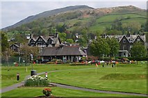 NY3704 : Pitch and putt course, Rothay Park Ambleside by Jim Barton