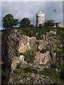 ST5673 : Clifton Observatory by Derek Harper