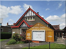 SO4382 : Methodist  Church  on  Corvedale  Road  Craven  Arms by Martin Dawes