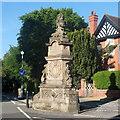 SJ3165 : Gladstone fountain, Hawarden by Bill Harrison