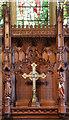 TQ3050 : St Peter & St Paul, Nutfield - Reredos by John Salmon