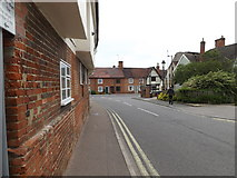 TM0855 : Barrett's Lane, Needham Market by Adrian Cable