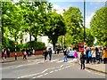 TQ2683 : Abbey Road Crossing by David Dixon