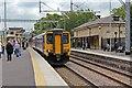 SJ4490 : Northern Rail Class 156, 156461, platform 2, Huyton railway station by El Pollock