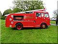 H3682 : Dennis Fire Truck (side view) by Kenneth  Allen