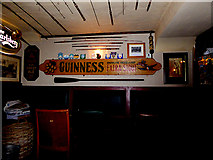 NX4355 : A corner of the Wigtown Ploughman Hotel by Oliver Dixon