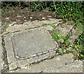 TM1475 : Manhole cover by Evelyn Simak