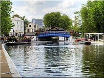 TQ2681 : Westbourne Terrace Bridge by David Dixon