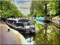 TQ2681 : Grand Union Canal, Paddington Stoplock by David Dixon