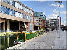 TQ2681 : Grand Union Canal, Paddington by David Dixon