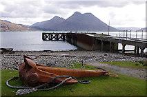 NG5534 : Suisnish Pier by Ian Taylor