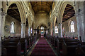TF1340 : Interior, St Andrew's church, Helpringham by J.Hannan-Briggs