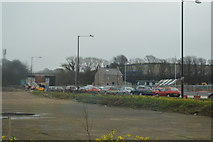 SD4964 : Traffic queueing, A683 by N Chadwick