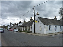 NT1136 : Tearoom in Broughton by James Allan